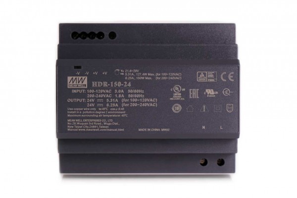 150 W power supply unit (24 V)