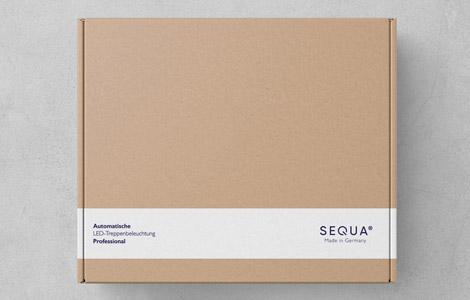 Recycling-Karton der SEQUA LED-Steuerung
