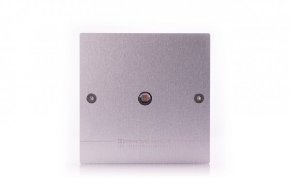 Cover for installing the twilight sensor in switch boxes