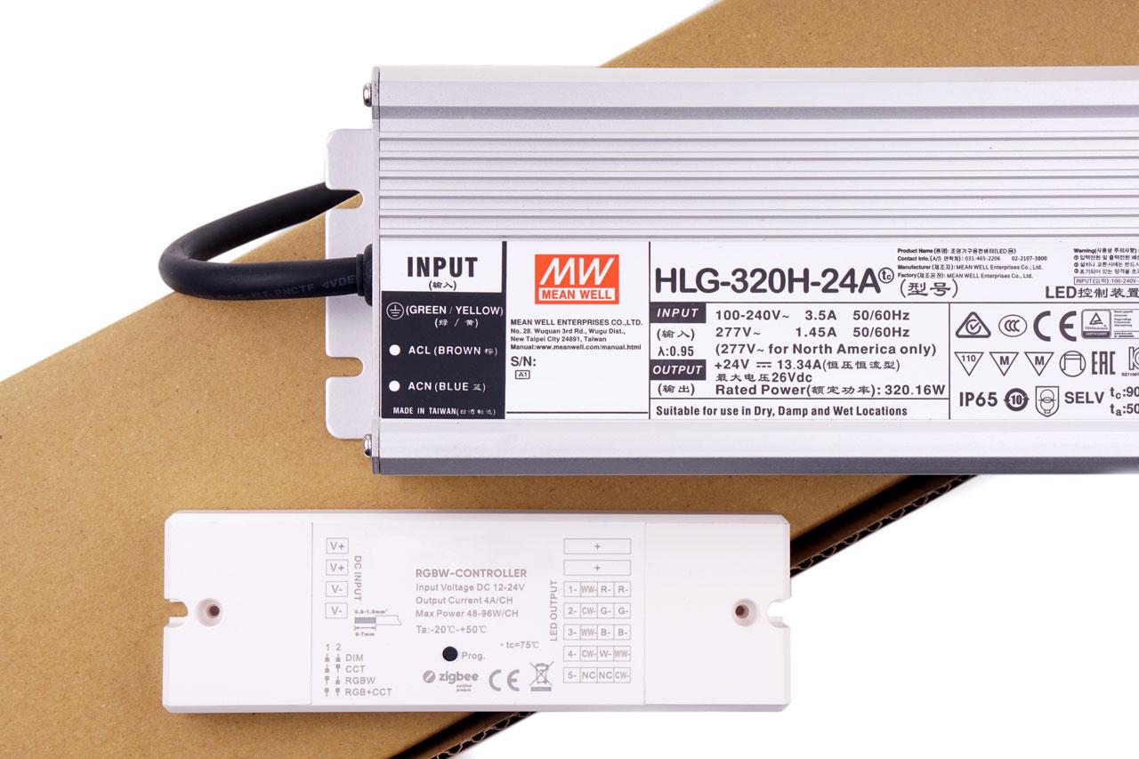 RGBW-Set - SEQUA LED-Beleuchtung