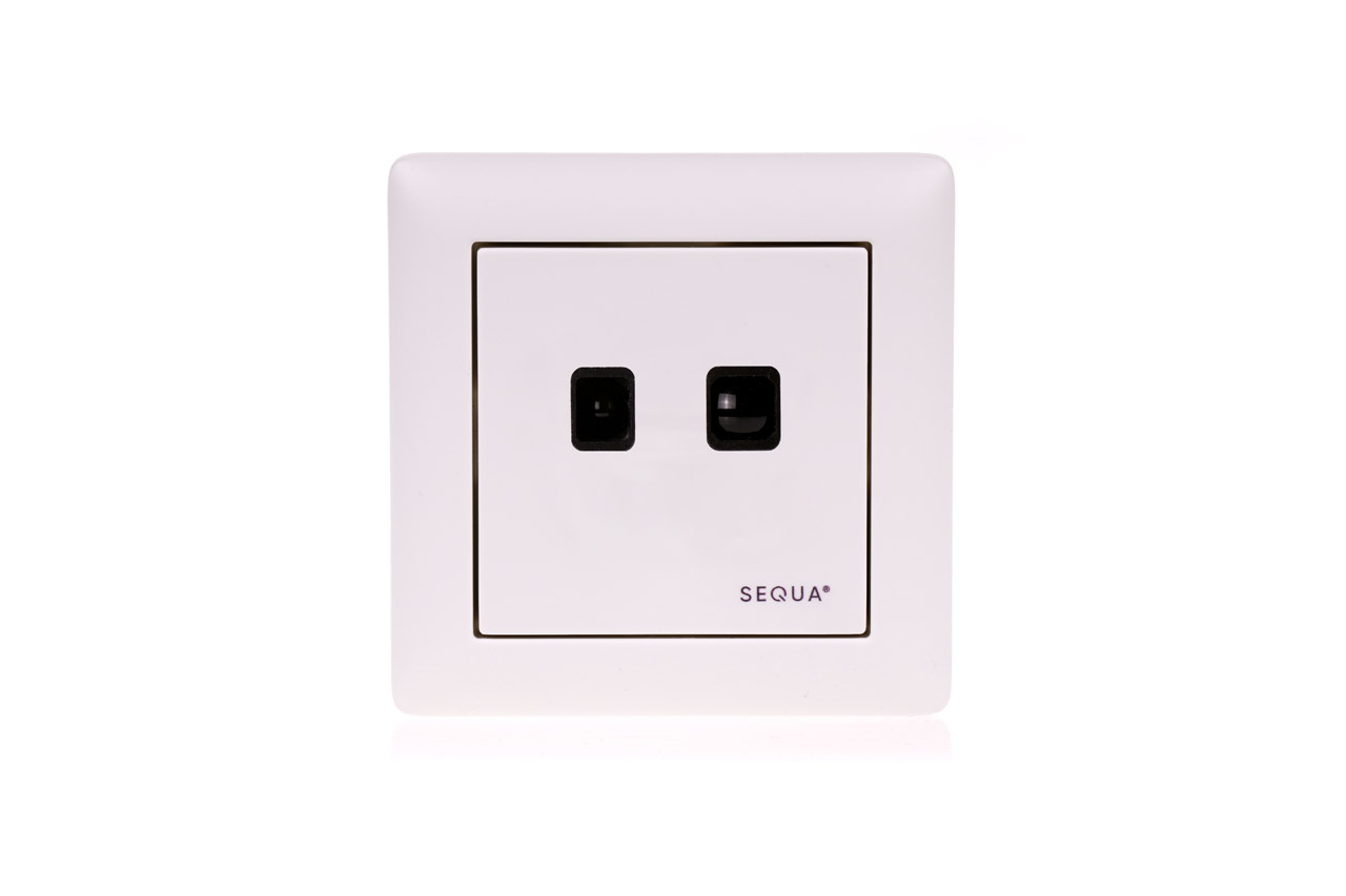 Sensor, für Schalterdosen, M/55 fürSEQUA LED-Steuerung
